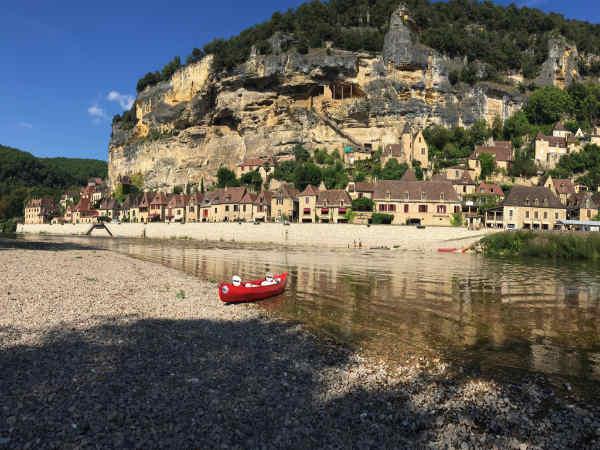 Canoe Dordogne pictures la roque gageac