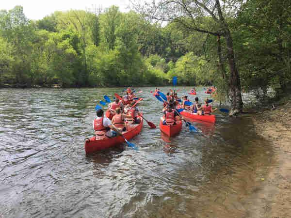 canoe dordogne pictures departure canoe dordogne