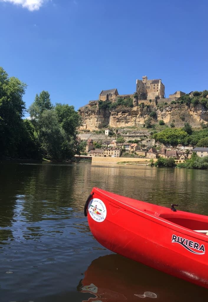 location de Canoë sur la Dordogne !