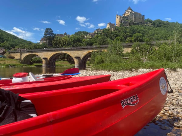 canoe dordogne photo canoe detente